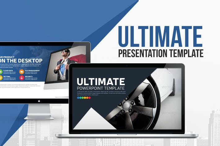 Thumbnail for Ultimate Presentation Template