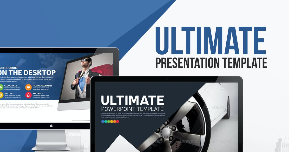 Download Ultimate Presentation Template by BrandEarth