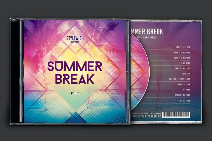 Thumbnail for Summer Break CD Cover Artwork