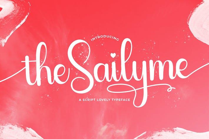 Thumbnail for Sailyme - Lovely Script Font