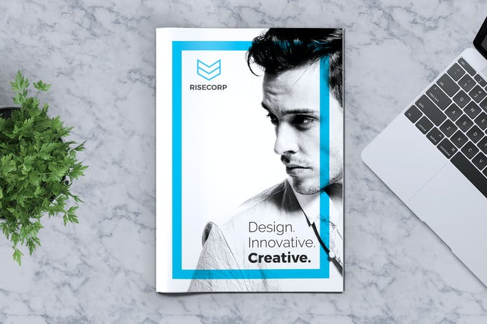 Thumbnail for Creative Brochure Template Vol. 23