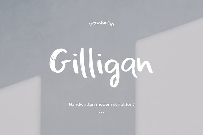 Thumbnail for Gilligan - Handwritten Font