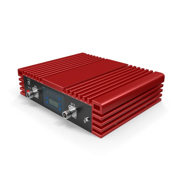 Cell Phone Signal Booster Red