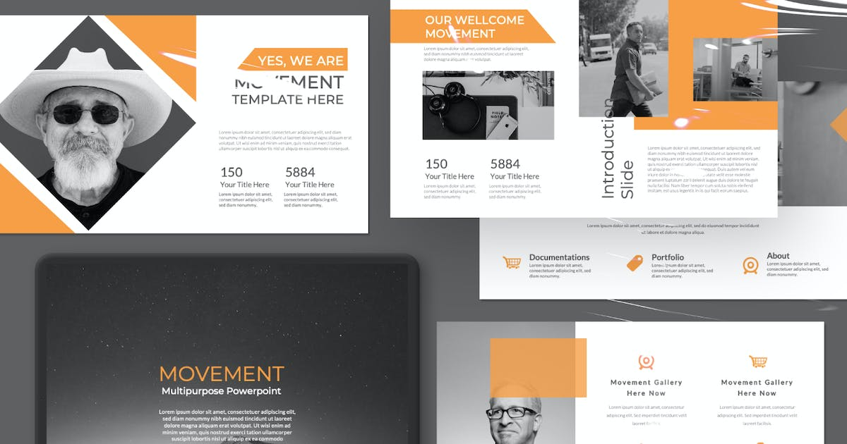Download Movement Pitch Dect Creative Template by templatehere