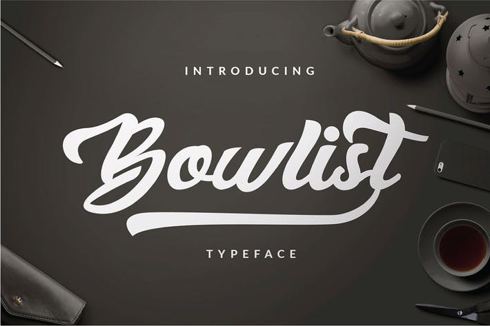 Cover Image For Bowlist - Logo Type