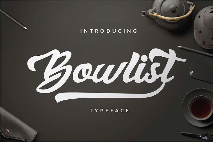 Bowlist - Logo Type
