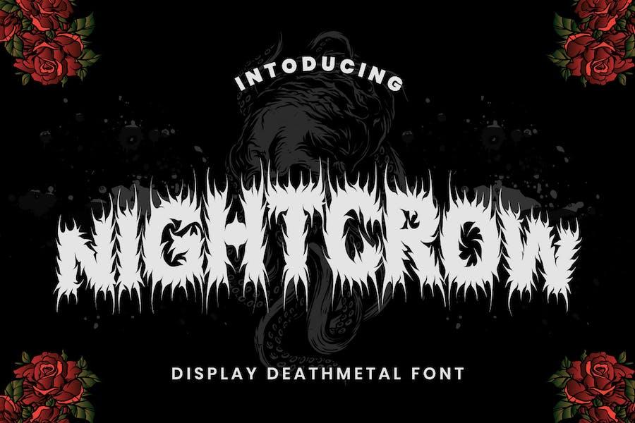 NightCrow - Fuente Deathmetal