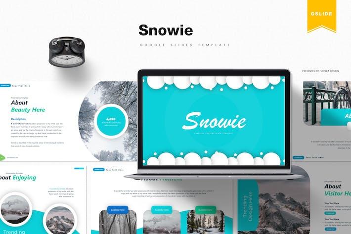 Thumbnail for Snowie | Google Slides Template