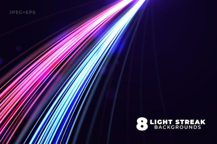 Thumbnail for Dynamic Light Streak Backgrounds