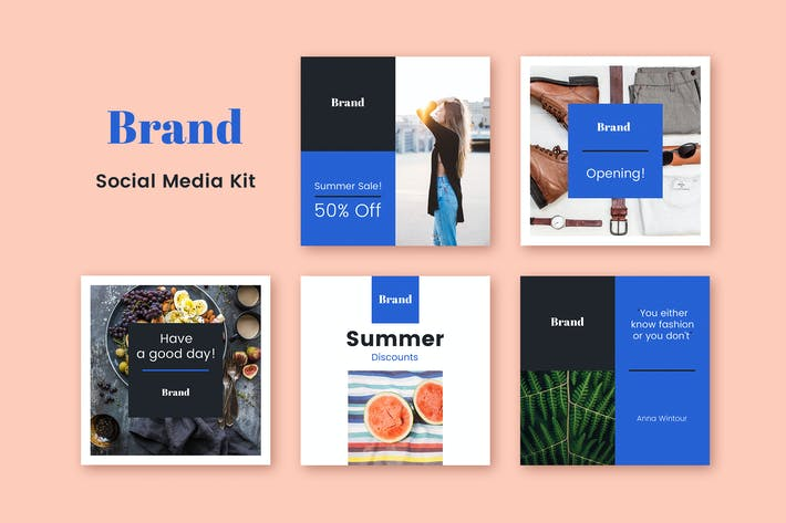 Thumbnail for Brand Social Media Kit