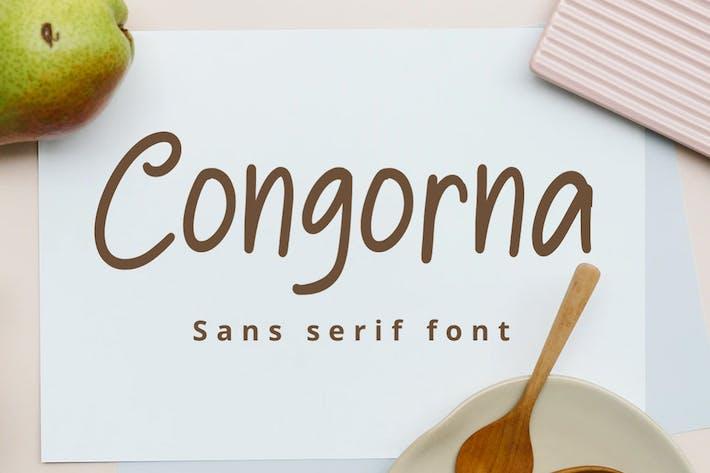 Thumbnail for Congorna Sans Con serifa