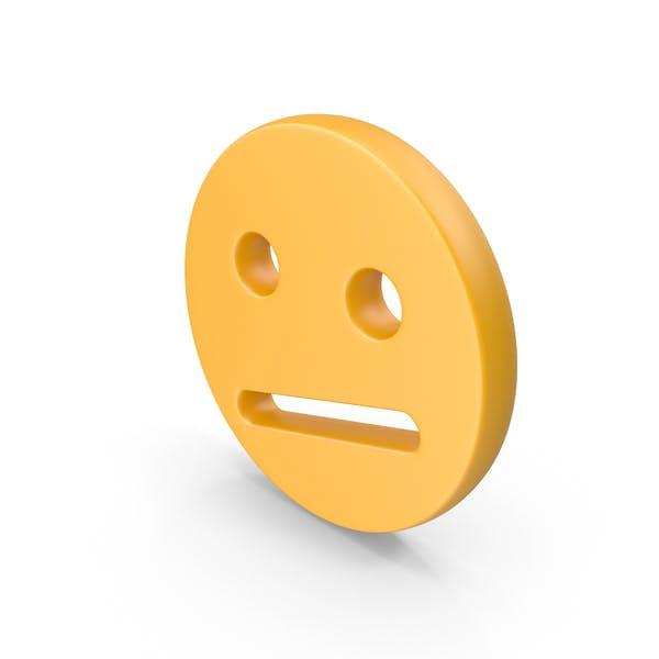 Worried Face Symbol