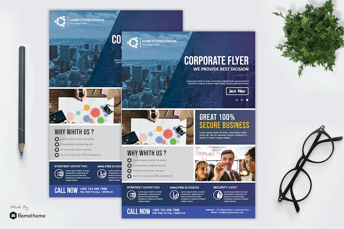 Thumbnail for Corporate Flyer vol. 10 HR