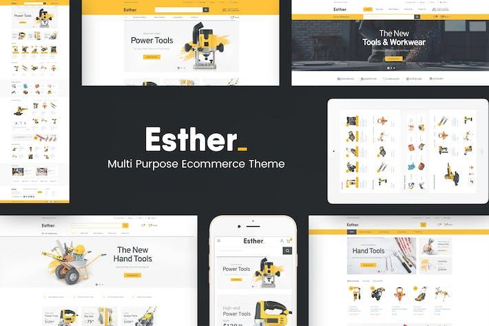 Thumbnail for Esther - Responsive Prestashop Theme