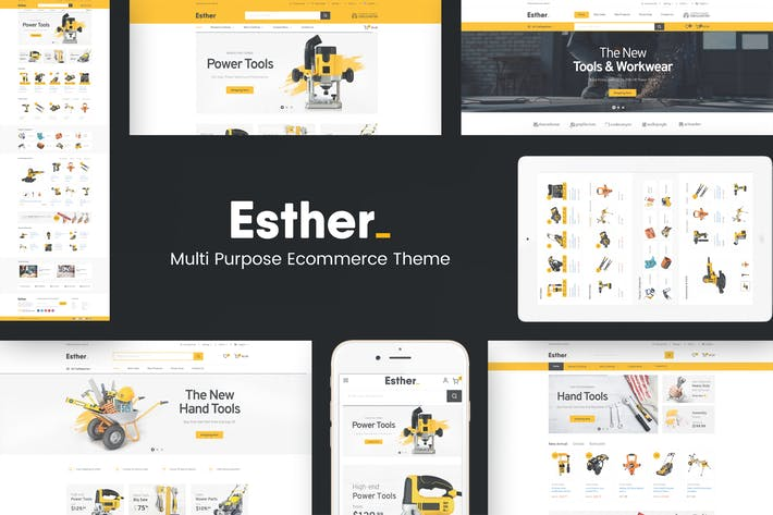 Thumbnail for Esther - Responsive Prestashop Thème