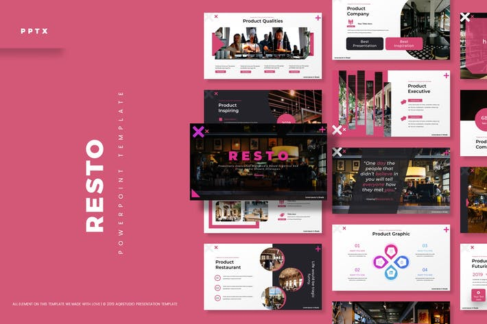 Resto - Powerpoint Template