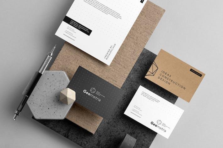 Thumbnail for Geometria Branding Mockup Vol. 2