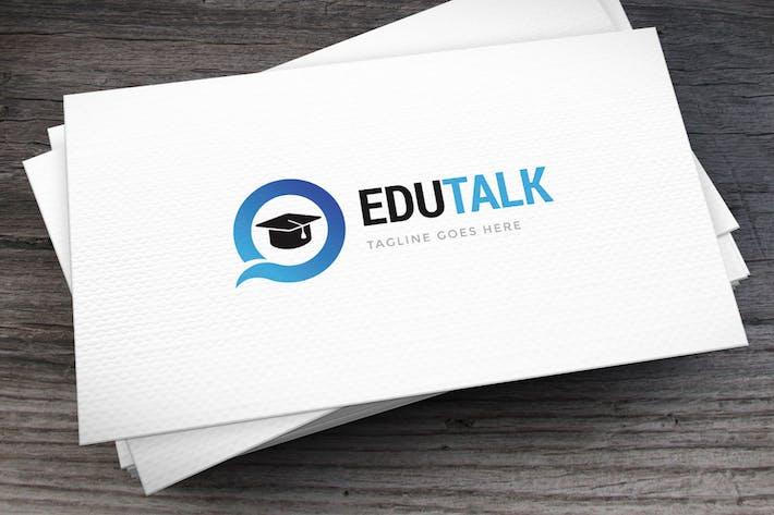 Thumbnail for Edutalk Logo Template