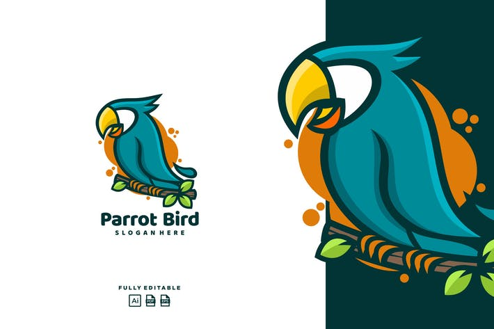 Thumbnail for Parrot Bird logo