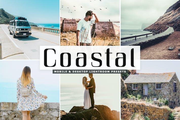 Thumbnail for Coastal Mobile & Desktop Lightroom Presets