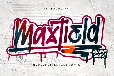 Maxtield   Fuente Graffiti