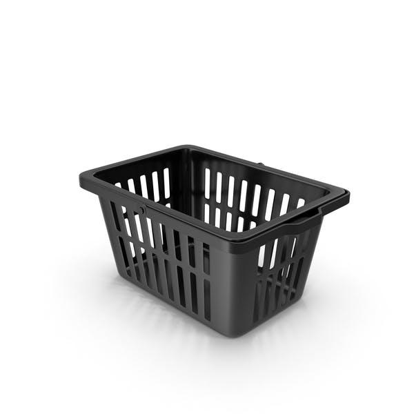 Plastic Basket Black