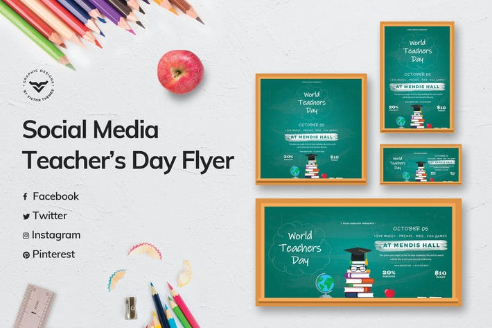 Thumbnail for Teacher's Day Social Media Template