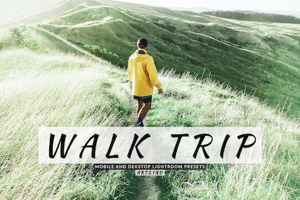 Walk Trip Lightroom Presets Dekstop and Mobile