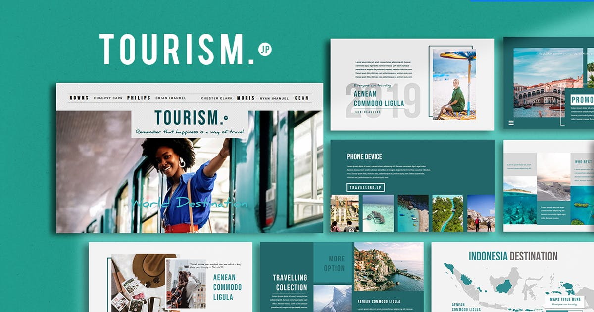 Download Tourism Presentation - Keynote Template by yip87