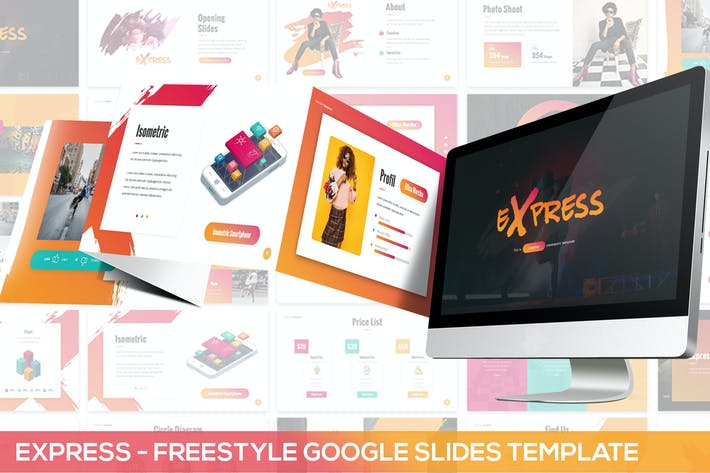 Thumbnail for Express - Freestyle Google Slides Template