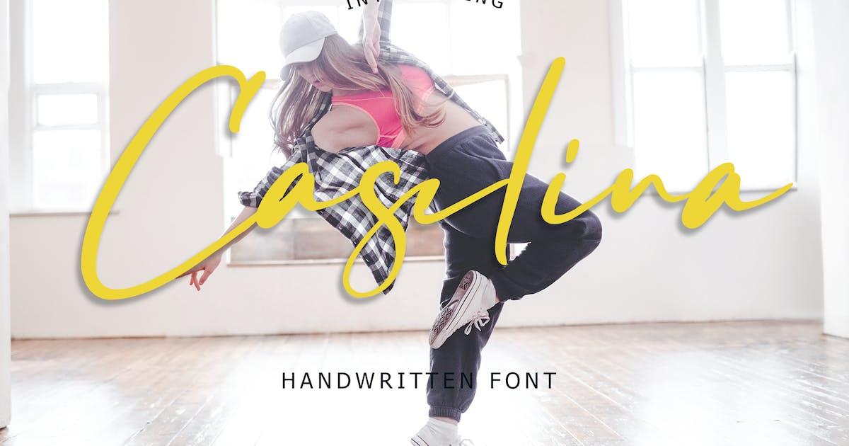 Download Caselina Handwritten Font by Formatika