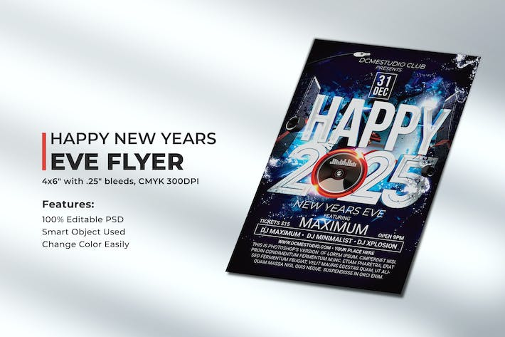 Happy New Years Eve Flyer