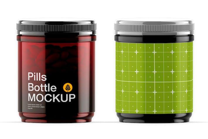 Amberr Pilules Mockup