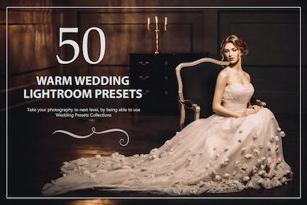 50 теплых свадебПресеты Lightroom