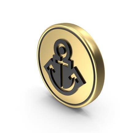 Anchor Coin Logo Icon