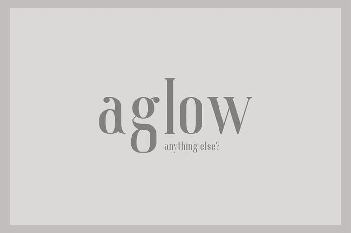 Thumbnail for Aglow Serif Family