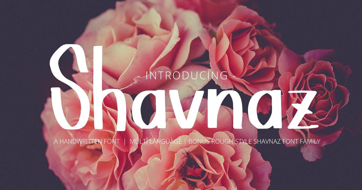 Download Shavnaz by Scratchdesignbali