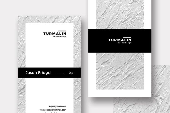Thumbnail for Turmalin Bussiness Card Template