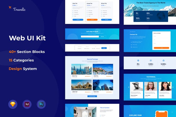 Thumbnail for Web UI Kit