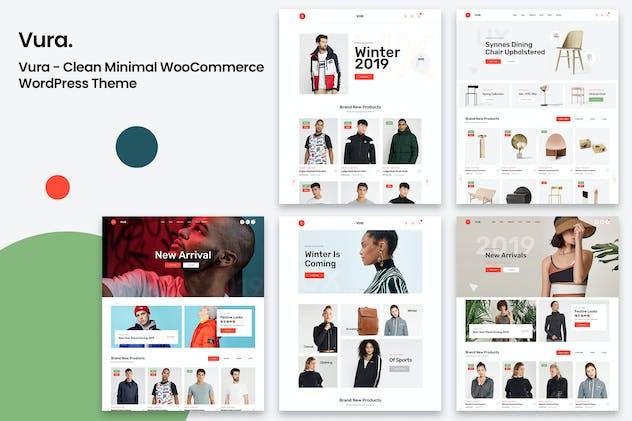 Vura - Clean Minimal WooCommerce WordPress Theme
