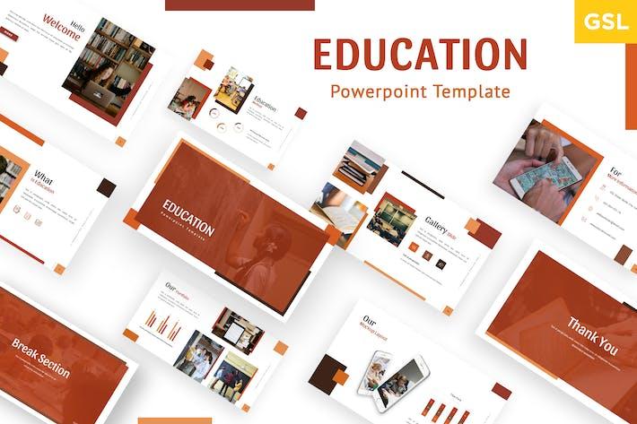 Thumbnail for Educator - Google Slides Template