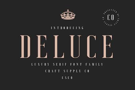 Delluce - Fuente de lujo Con serifa