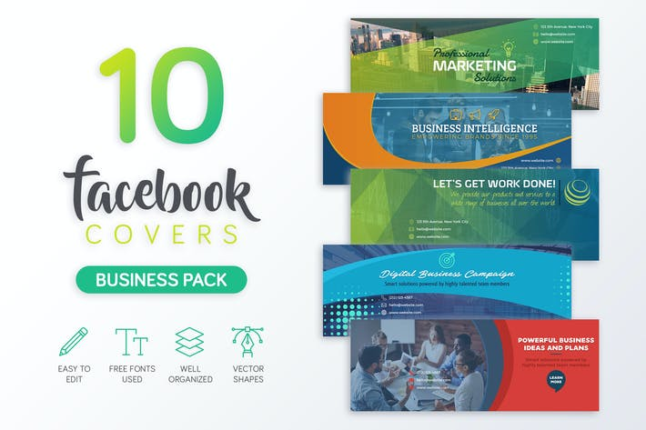 Thumbnail for Business Facebook Cover