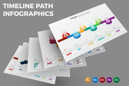 Timeline Path – Infographics Design