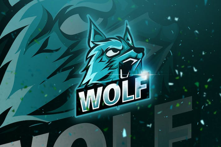 Thumbnail for Wolf - Mascot & Esport Logo