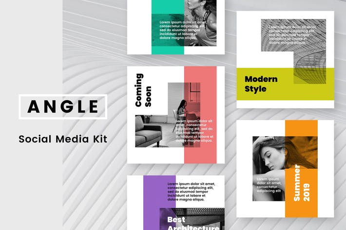 Thumbnail for Angle Social Media Kit