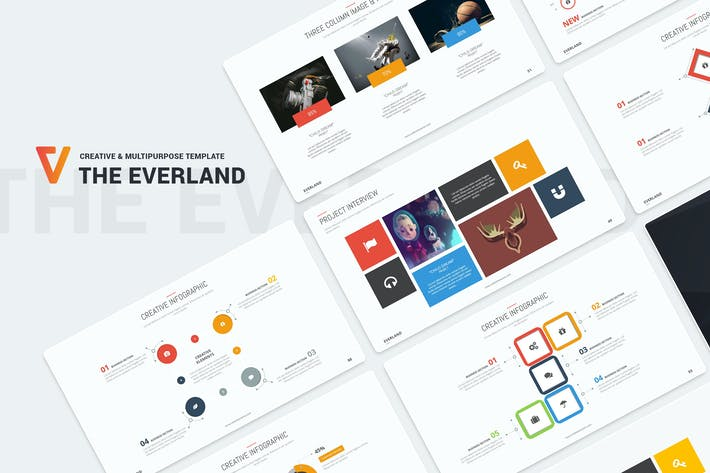 Thumbnail for Everland Creative Template