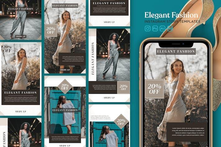 Thumbnail for Instagram Story Template Vol.23 Elegant Fashion