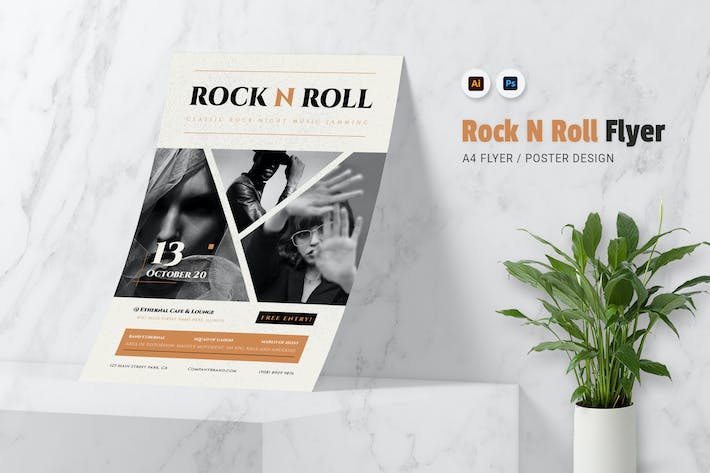 Thumbnail for Rock N Roll Flyer