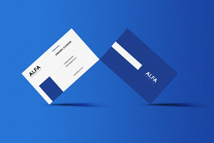 Cover Image For Alfa Business Card Template